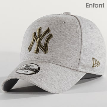 Casquette Enfant 9Forty Jersey Essential 12301155 New York Yankees Gris Chiné