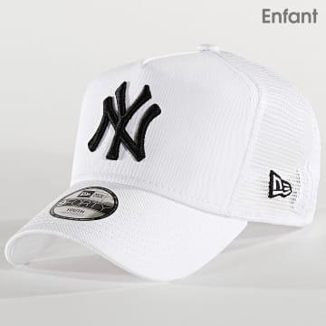 Casquette Trucker Enfant League Essential 12301163 New York Yankees Blanc