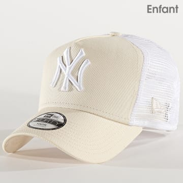 Casquette Trucker Enfant League Essential 12301168 New York Yankees Beige