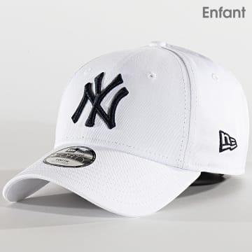 New Era - Casquette Enfant 9Forty League Essential 12301176 New York Yankees Blanc