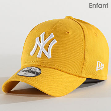 Casquette Enfant 9Forty Essential League 12301177 New York Yankees Jaune