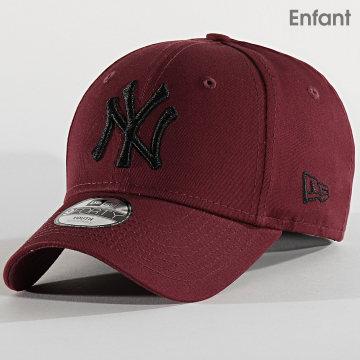 Casquette Enfant 9Forty Essential 12301180 New York Yankees Bordeaux