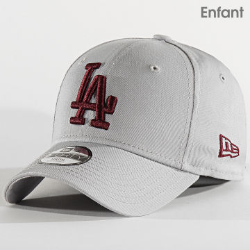 New Era - Casquette Enfant 9Forty Essential 12301182 Los Angeles Dodgers Gris