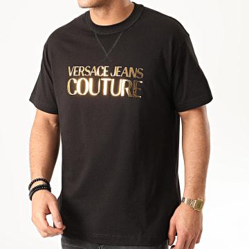Versace Jeans Couture - Tee Shirt B3GVA7EA-30311 Noir Doré