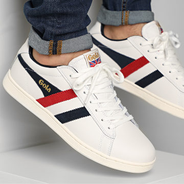 Gola - Baskets Equipe CMA207 White Navy Red