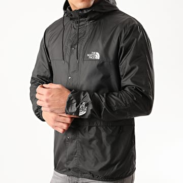 The North Face - Coupe-Vent A Capuche 1985 Mountain CH37 Noir