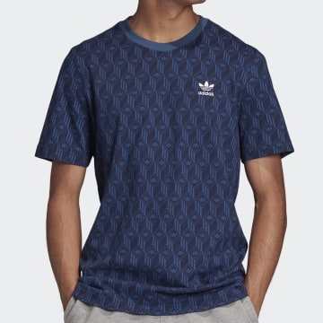 Adidas Originals - Tee Shirt FM3422 Bleu Marine