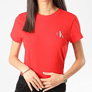 Calvin Klein - Tee Shirt Femme QS6356E Rouge
