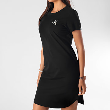 Calvin Klein - Robe Tee Shirt QS6358E Noir