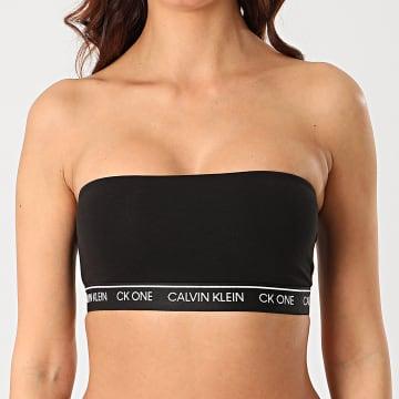 Calvin Klein - Bandeau Femme Unlined Bandeau QF5728E Noir