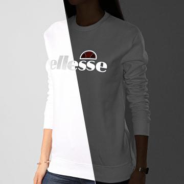 Ellesse - Sweat Crewneck Femme Tofaro SRE08354 Blanc Réfléchissant