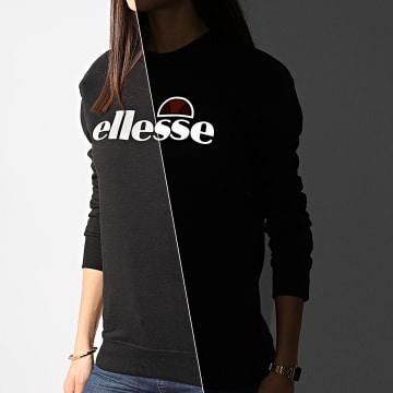 Ellesse - Sweat Crewneck Femme Tofaro SRE08354 Noir Réfléchissant