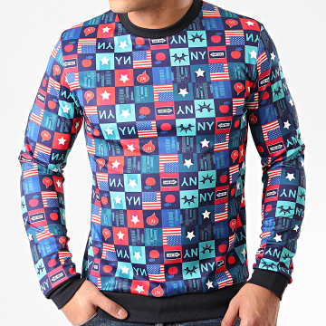 MTX - Sweat Crewneck TM0268 Bleu Marine