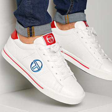 Baskets Now Low STM018610 White Royal Red