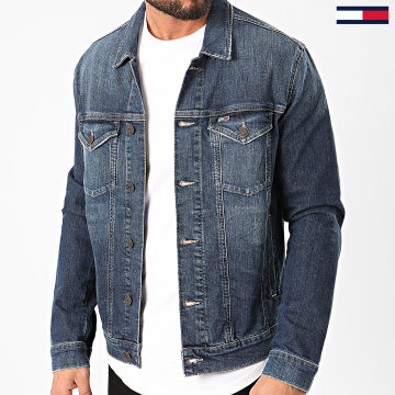Tommy Jeans - Veste En Jean Regular Trucker 7955 Bleu Denim