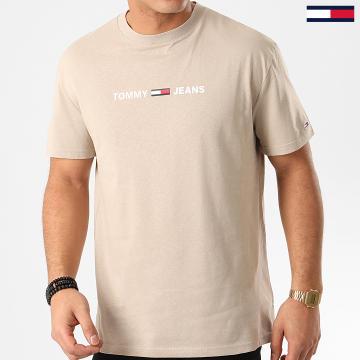 Tee Shirt Straight Small Logo 7621 Beige