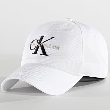 Calvin Klein - Casquette CKJ Monogram 5618 Blanc