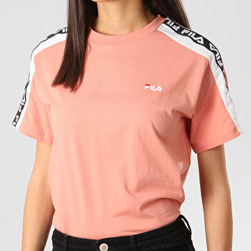 Tee Shirt Femme A Bandes Tandy Rose