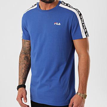 Tee Shirt A Bandes Thanos 687700 Bleu Roi