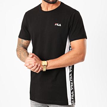Tee Shirt A Bandes Tobal 687709 Noir