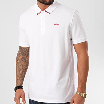 HUGO by Hugo Boss - Polo Manches Courtes Daruso Blanc