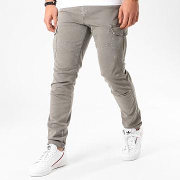 Kaporal - Pantalon Cargo Slim Kalie Vert Kaki