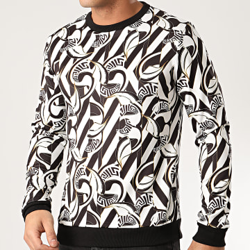 MTX - Sweat Crewneck TM0266 Noir Blanc