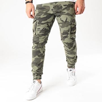 MTX - Jogger Pant XH22108 Camouflage Vert Kaki