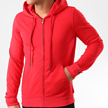 MTX - Sweat Capuche Zippé Q090 Rouge