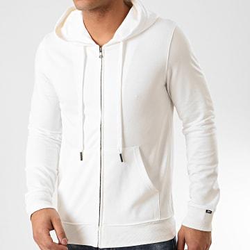 MTX - Sweat Capuche Zippé Q090 Blanc