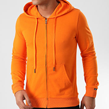 MTX - Sweat Capuche Zippé Q090 Orange