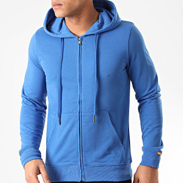 MTX - Sweat Capuche Zippé Q090 Bleu Roi