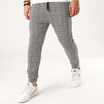 MTX - Pantalon A Carreaux 33135 Gris