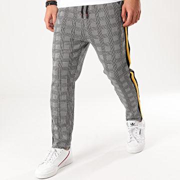 Pantalon A Carreaux 33136 Gris