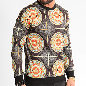 MTX - Sweat Crewneck TM0281 Noir Renaissance