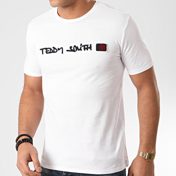 Teddy Smith - Tee Shirt Clap Blanc