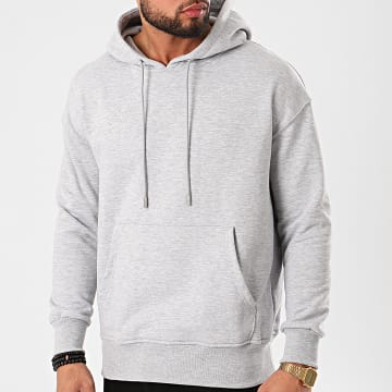 Uniplay - Sweat Capuche HD-36 Gris Chiné