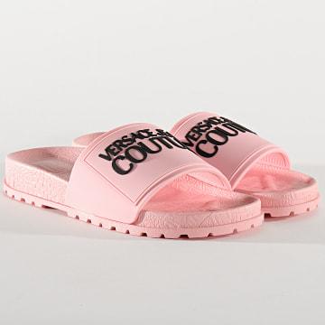 Versace Jeans Couture - Claquettes Femme Linea Fondo Slide E0VVBSQ2 Rose