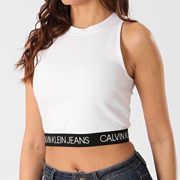 Calvin Klein - Débardeur Femme Milano Sporty 3044 Blanc