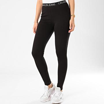 Calvin Klein - Legging Femme Milano 3519 Noir