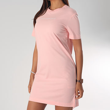 Robe Tee Shirt Femme Institutional 3702 Rose