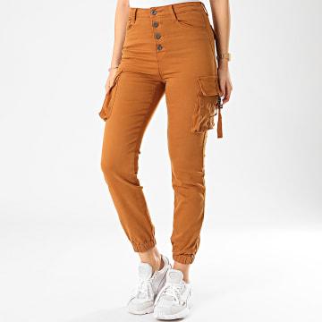 Jogger Pant Femme DZ215 Camel
