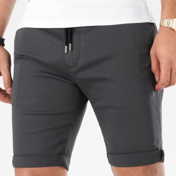 LBO - Short Chino Jogger 987 Gris Anthracite