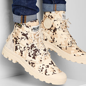 Boots Pampa High OG Camo 76657 Beige Camouflage