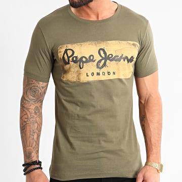 Tee Shirt Charing PM503215 Vert Kaki