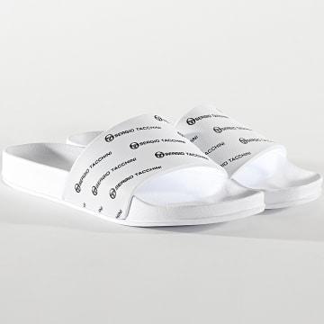 Sergio Tacchini - Claquettes Remix STM019005 White Black