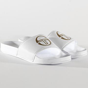 Sergio Tacchini - Claquettes Remix Fur STM019006 White Gold