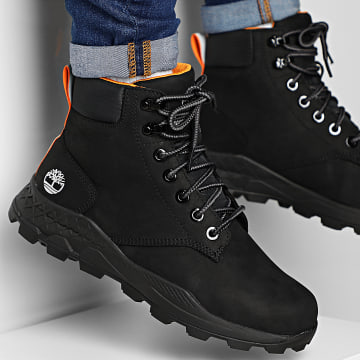 Boots Brooklyn 6 Inch A2DSD Black Nubuck