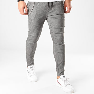 Uniplay - Pantalon T3519 Gris Chiné