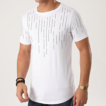 Berry Denim - Tee Shirt Oversize XP012 Blanc